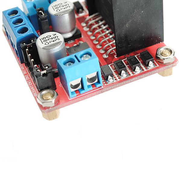 L298N Dual H Bridge Stepper Motor Driver Board For Arduino