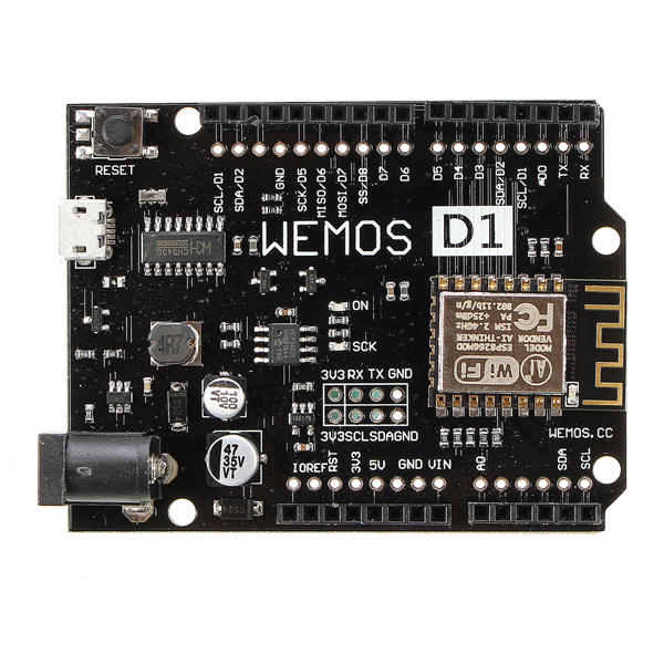 D1 R2 V2.1.0 WiFi Uno Module Based ESP8266 For Arduino Nodemcu Compatible