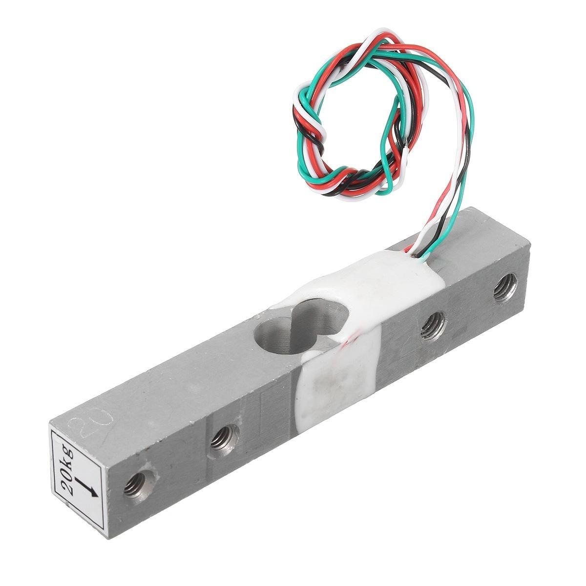 HX711 Module + 20kg Aluminum Alloy Scale Weighing Sensor