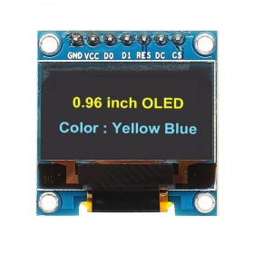7Pin 0.96 Inch OLED Display 12864 SSD1306 SPI IIC Serial LCD Screen Module For Arduino