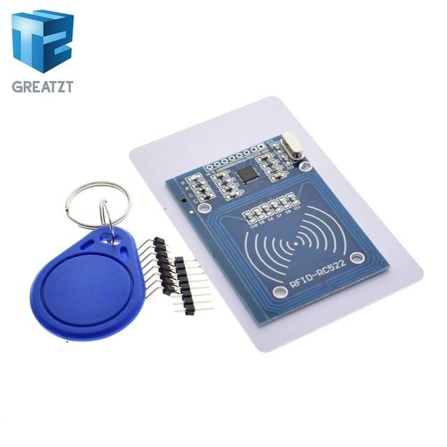 RF module IC card MFRC-522 RFID sensing module to send S50 Fudan White Card Keychain