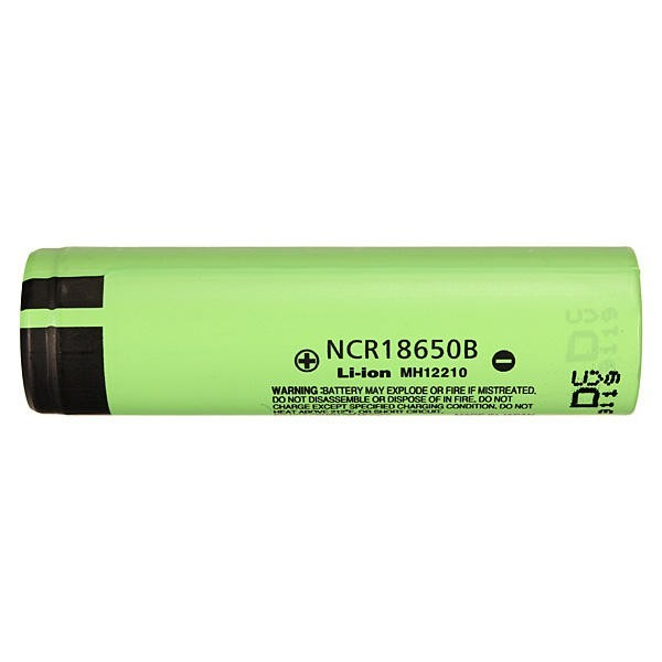 NCR18650B 3400mAH 3.7 V Unprotected Rechargeable Lithium Batteries