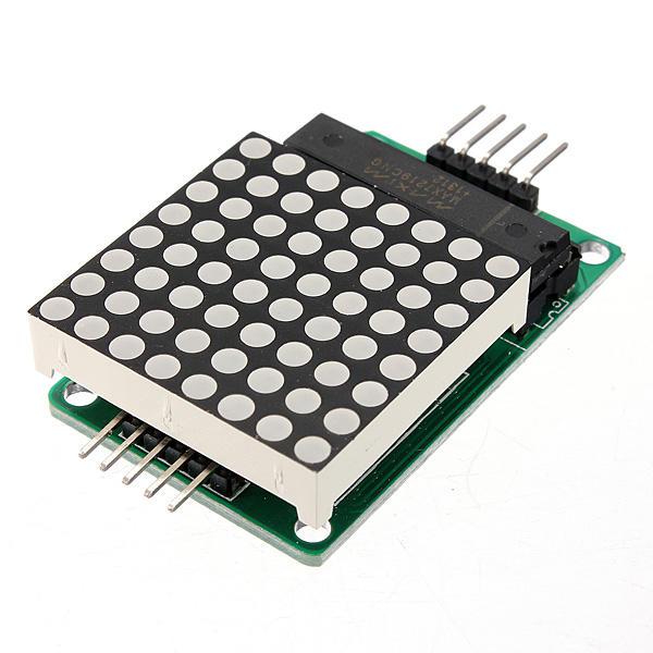 MAX7219 8x8 Dot Matrix MCU LED Display Control Module Kit