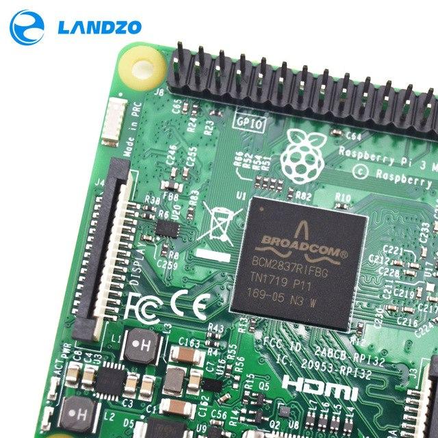 Raspberry Pi 3 Model B+ Board 1GB LPDDR2 BCM2837 Quad-Core with WiFi&Bluetooth