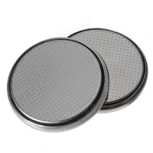 20PCS 3V 150mAh Capacity Multiply CR2025 Coin Lithium Battery Silver