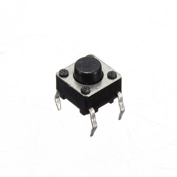 100pcs Mini Micro Momentary Tactile Touch Switch Push Button DIP P4 Normally Open