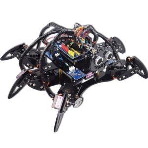 Hexapod 6 Legs Spider Robot Kit for Arduino UNO R3 with PDF