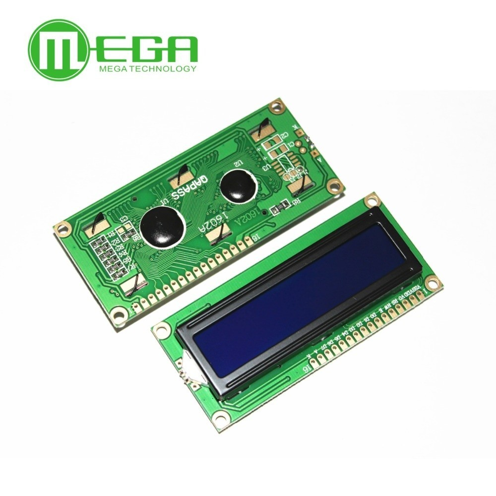 1602 LCD Display Module LCD1602 LCD1602 5V 16x2 Character LCD Display Module Controller blue blacklight Integrated Circuits