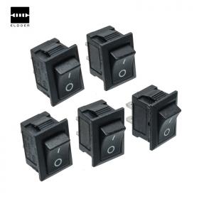 5PCS Black Mini Switch On/Off Push Button