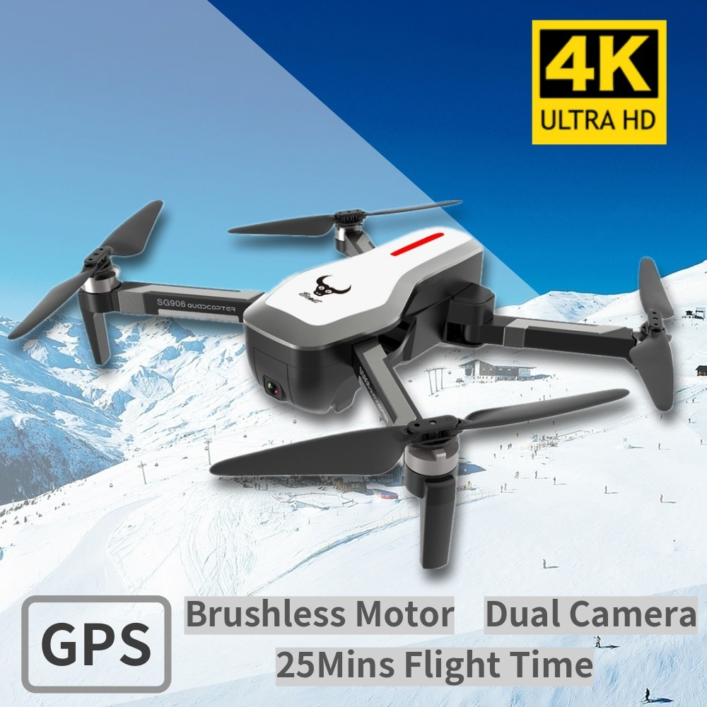 Foldable RC Drone With 4K Camera HD
