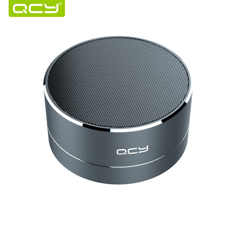 A10 Metal Wireless Bluetooth Speaker portable subwoof sound with Mic TF card FM radio AUX MP3 music play