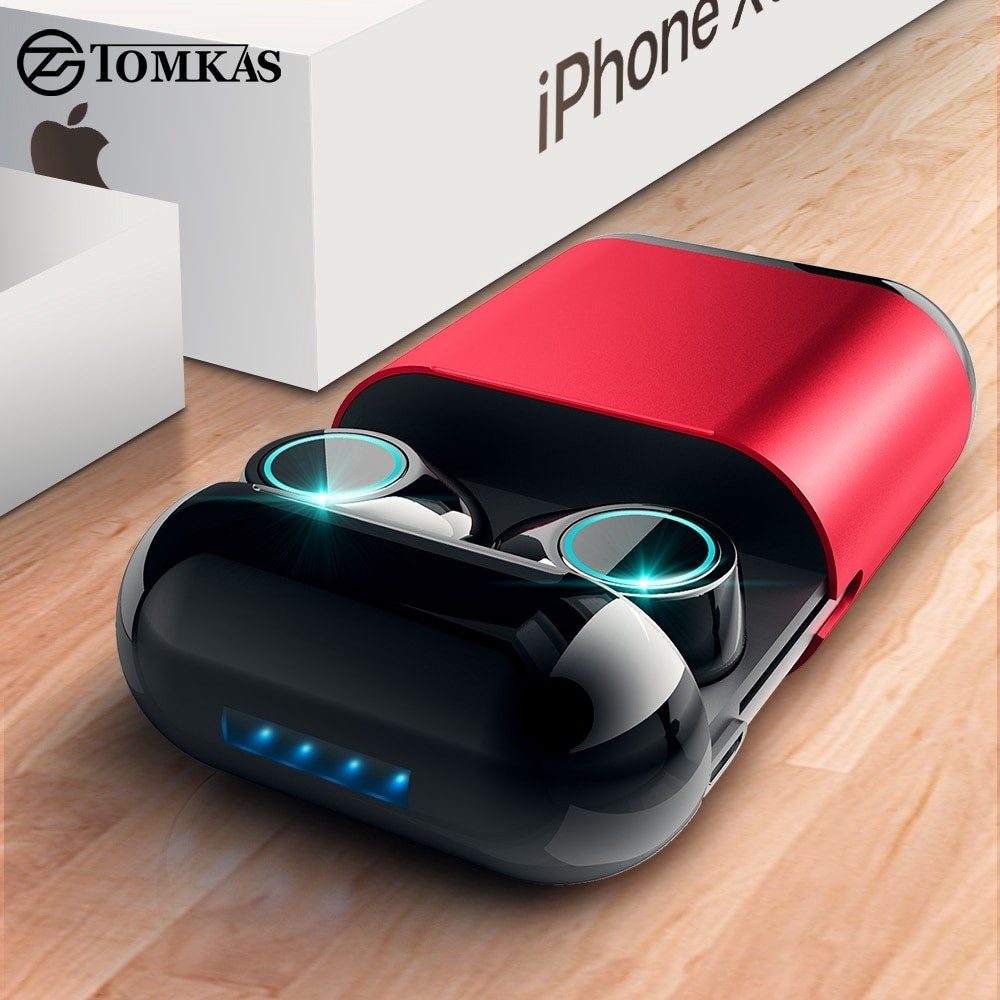 Bluetooth Headphones Earphone With Mic and Charging Box