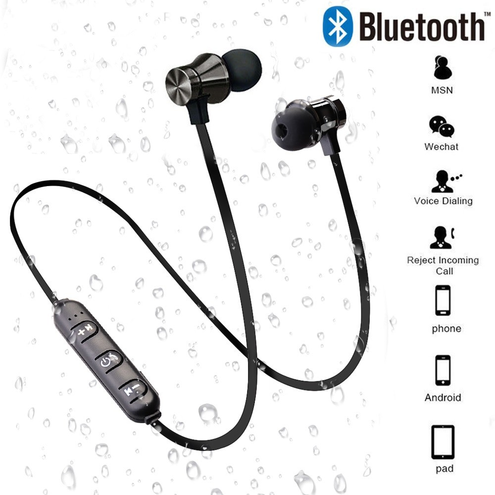 Sports Wireless Bluetooth Earphone with Mic