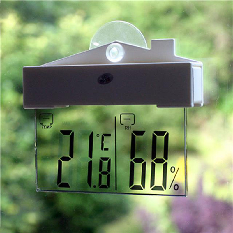 Digital Weather Station for Window Indoor and Outdoor