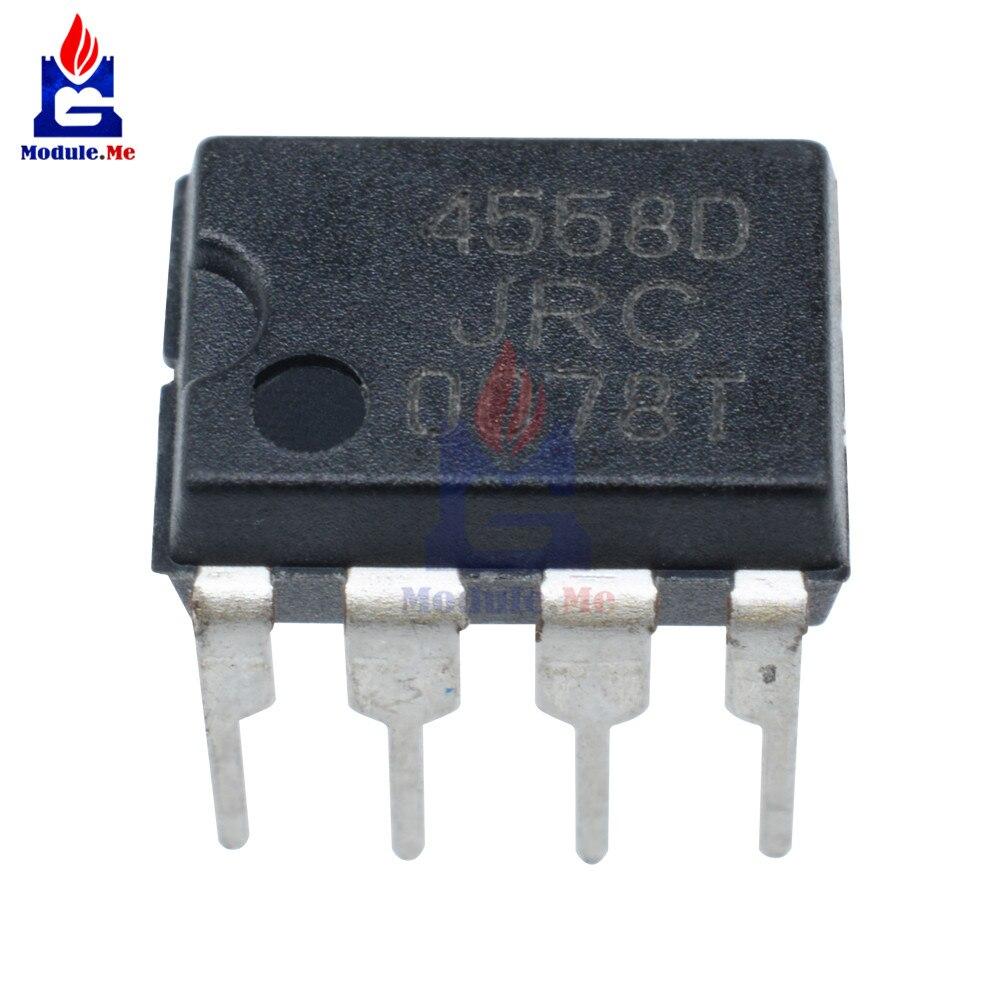5 PCS/Lot IC Chips JRC4558 4558 4558D JRC4558D DIP-8 Original Integrate Circuits