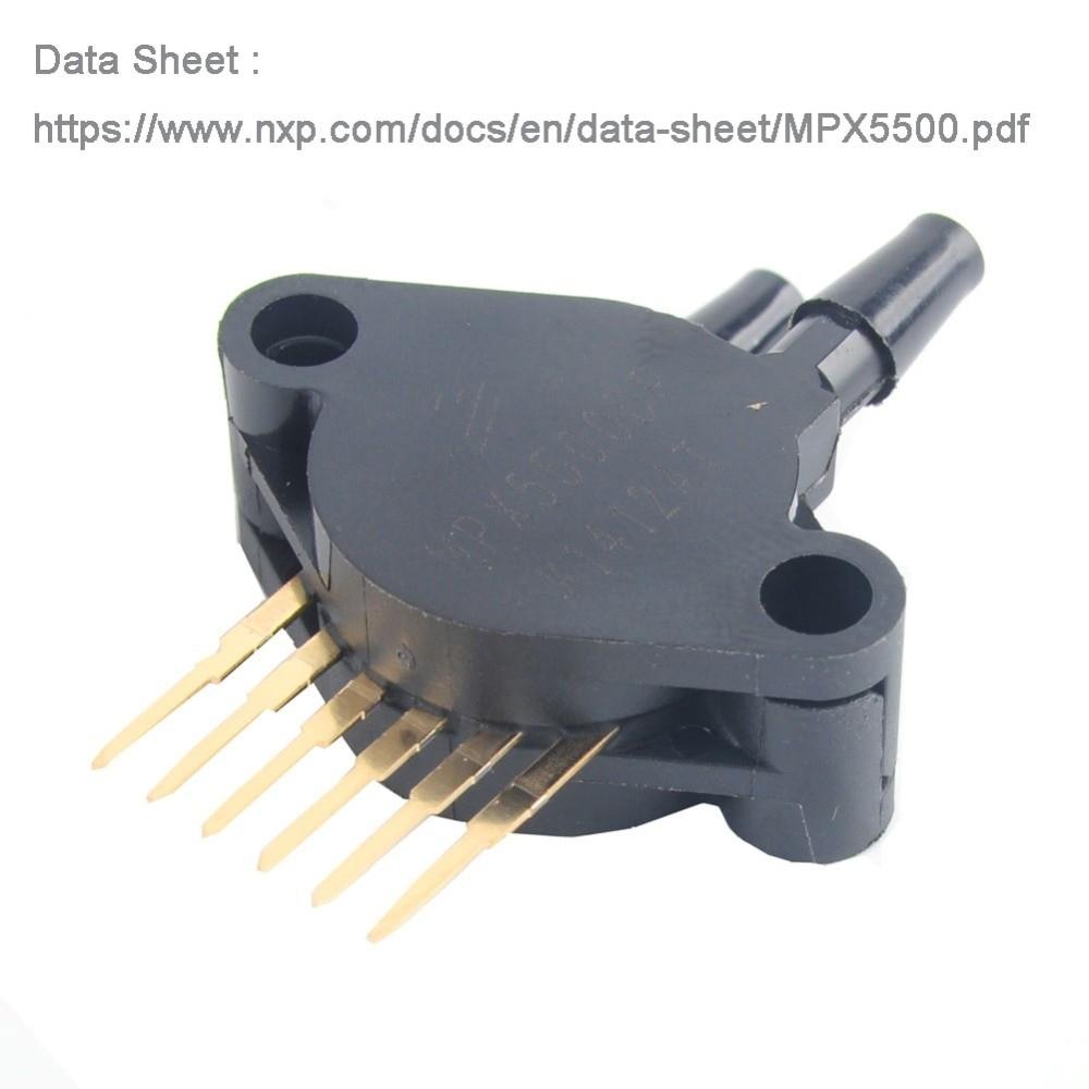 Pressure Sensor ABS Breakout 0 to 500 kPa MPX5500DP