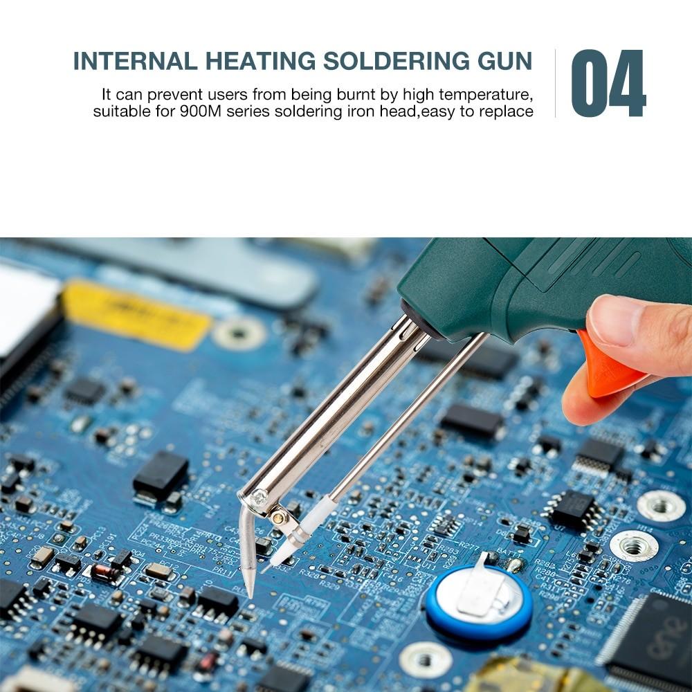 60W Tin Electric Soldering Iron Kit