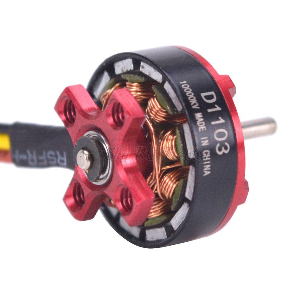 Mini D1103 10000kv Brushless Motor 2S for RC Drone Quadcopter