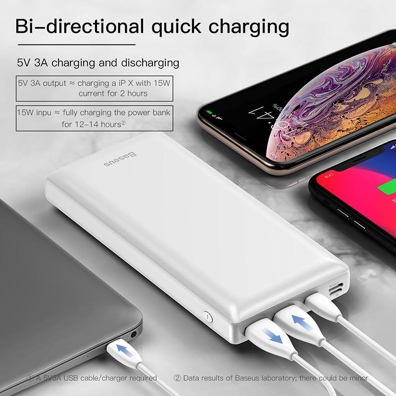 Fast Charging 30000 mAh USB Power Bank