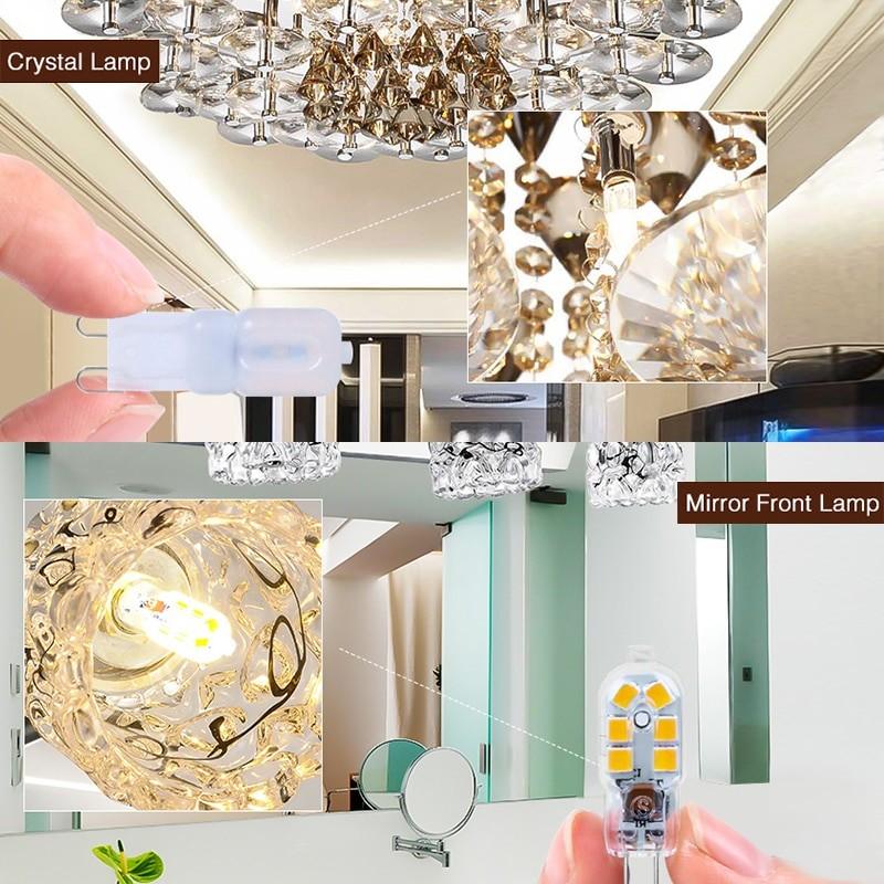 LED Lamp 3W 5W Mini LED Bulb Spotlight Chandelier