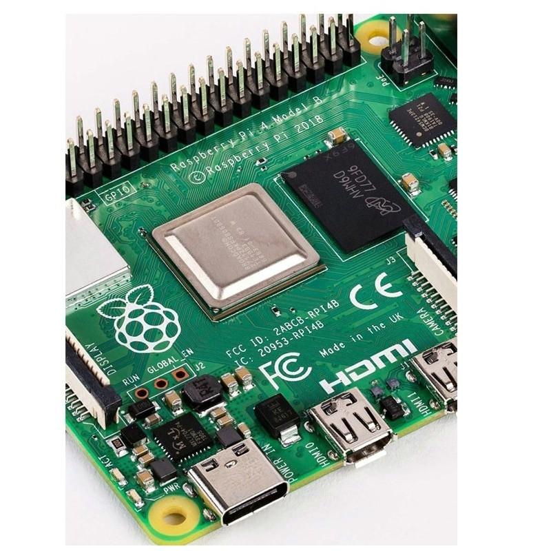 Latest Raspberry Pi 4 Model B with up 4GB RAM Support 2.4/5.0 GHz WIFI Bluetooth