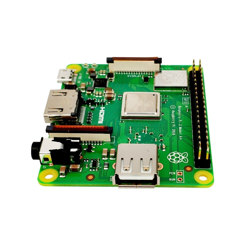 Raspberry Pi 3 Model A+ Plus 4-Core CPU with WiFi and Bluetooth