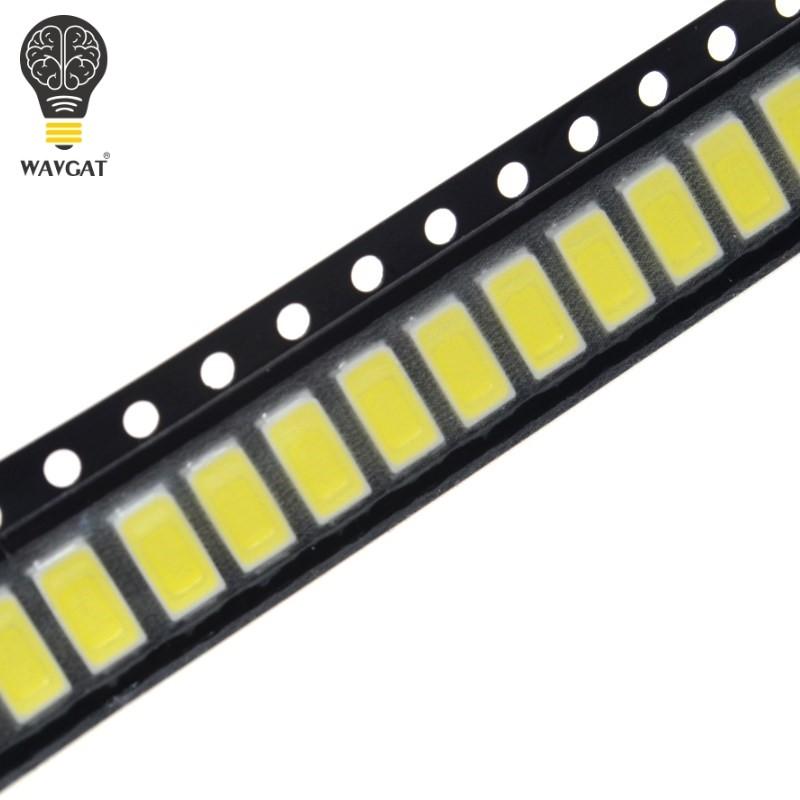 100pcs White Light SMD LED diodes