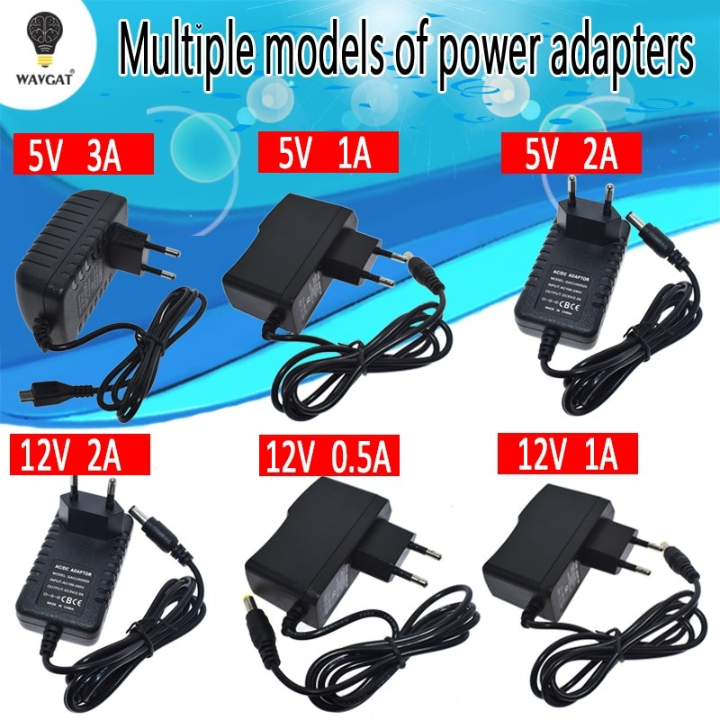 100-240V AC to DC Power Adapter Supply Charger for Arduino
