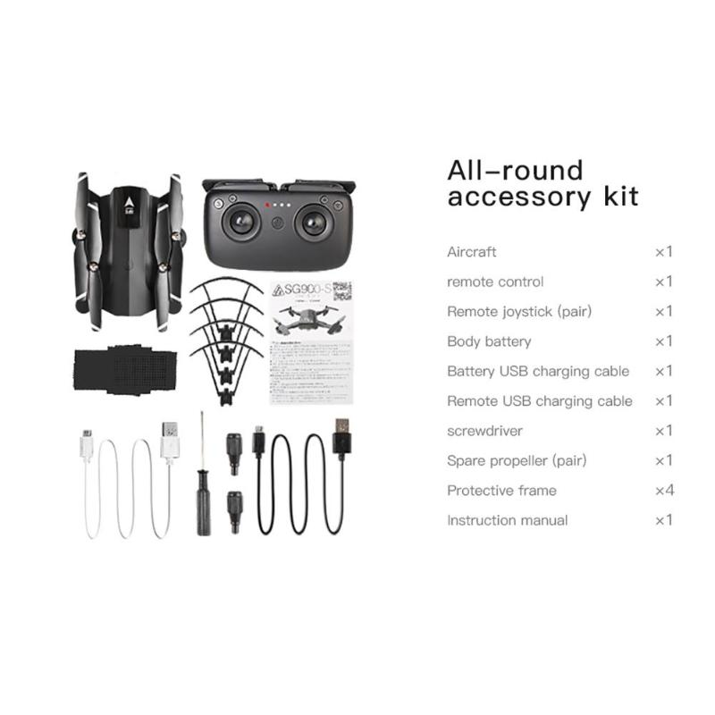 SG900-S RC Drone With 720P/1080P HD Camera Real Time Aerial Video