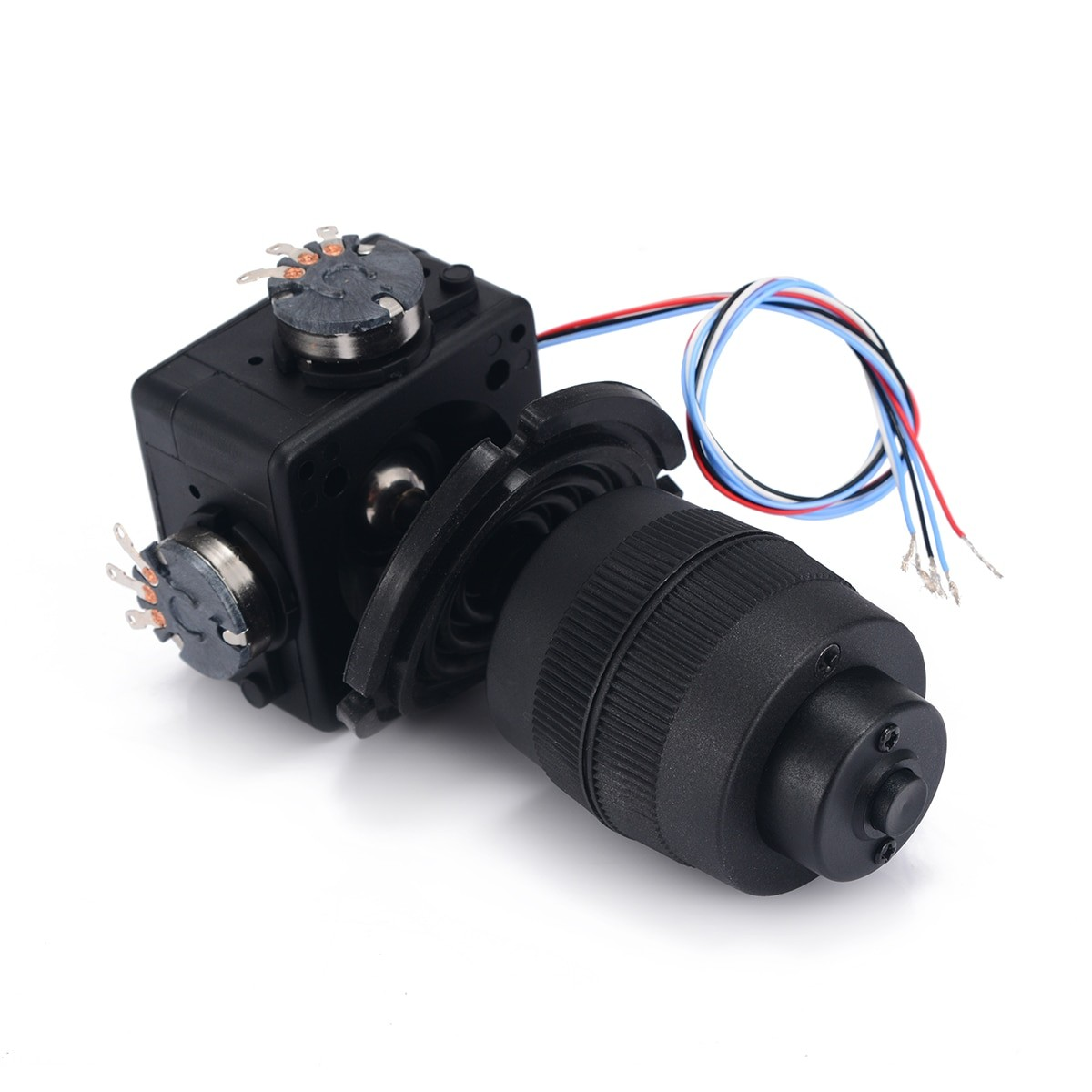 4-Axis Joystick Potentiometer Button Controller for industrial