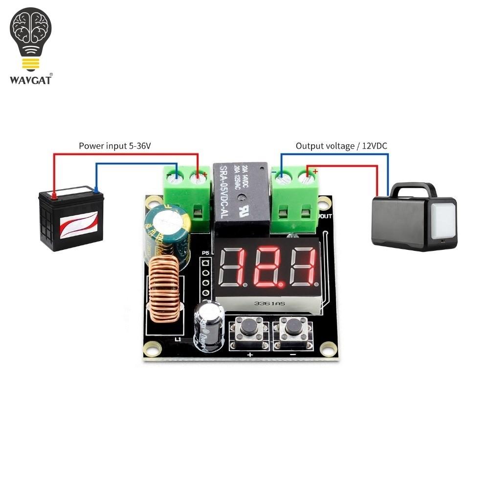VHM-009 DC 12V-36V Voltage Protection Module