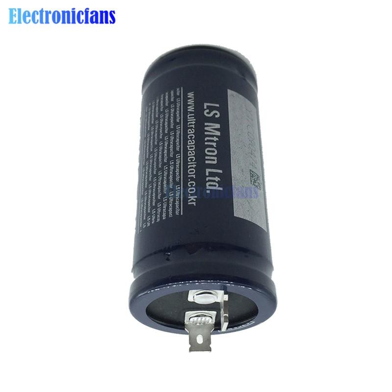 Super Farad Capacitor Low ESR High Frequency 2.8V600F 72x35mm