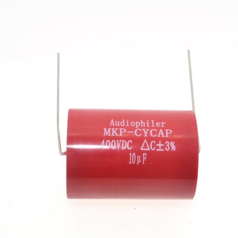 4Pcs Audiophiler Axial MKP 10UF 400VDC