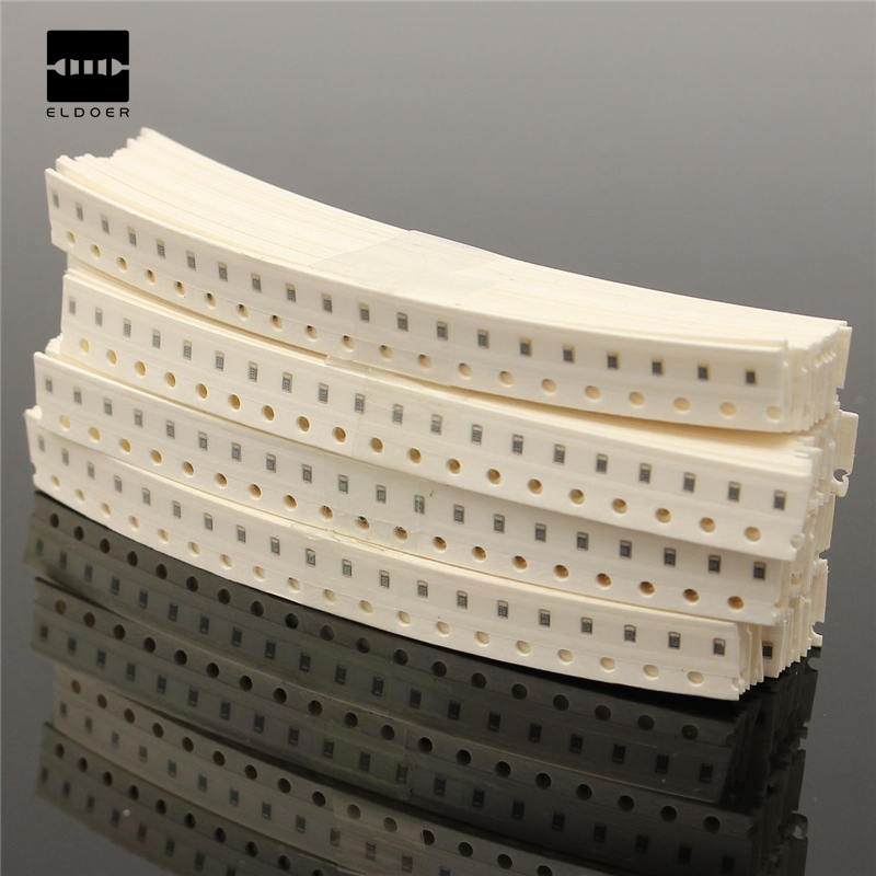 1800 Pieces SMD SMT Resistor capacitor Kit