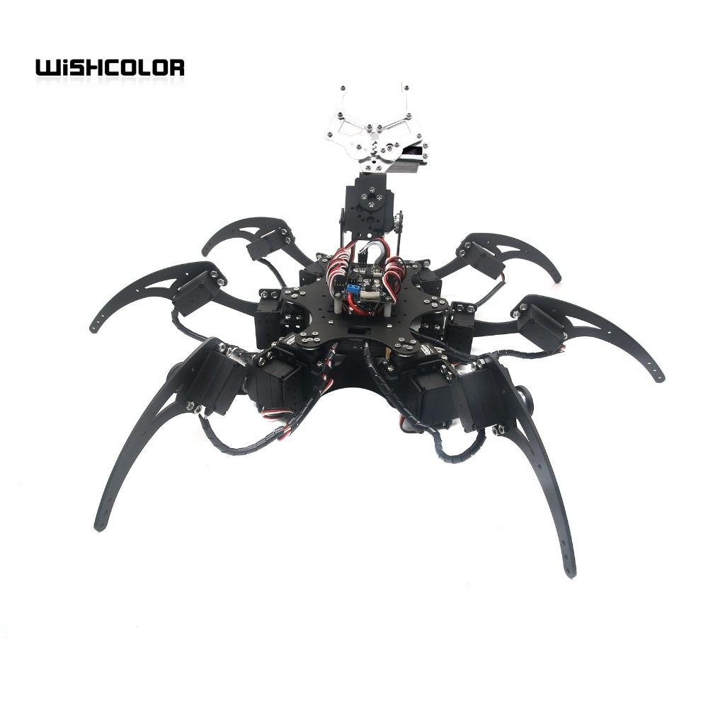 Hexapod Robot Spider Six Legs