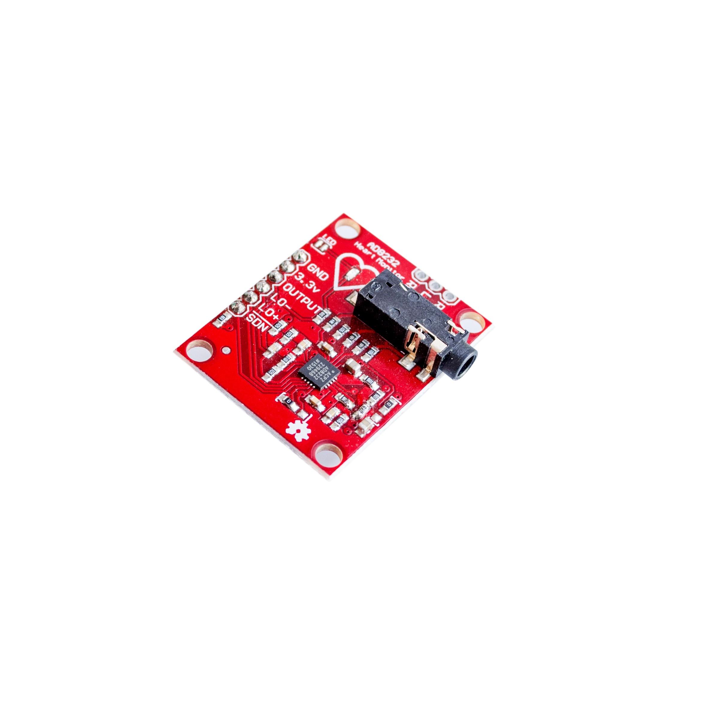 AD8232 ECG pulse heart measurement module