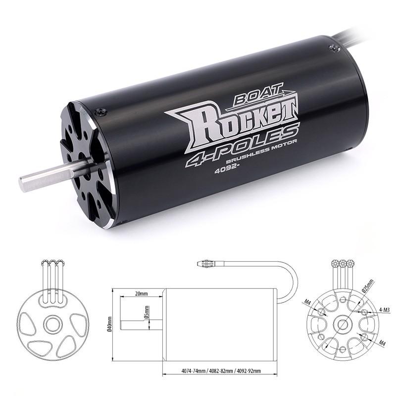 SURPASSHOBBY Rocket 4092 Brushless Motor