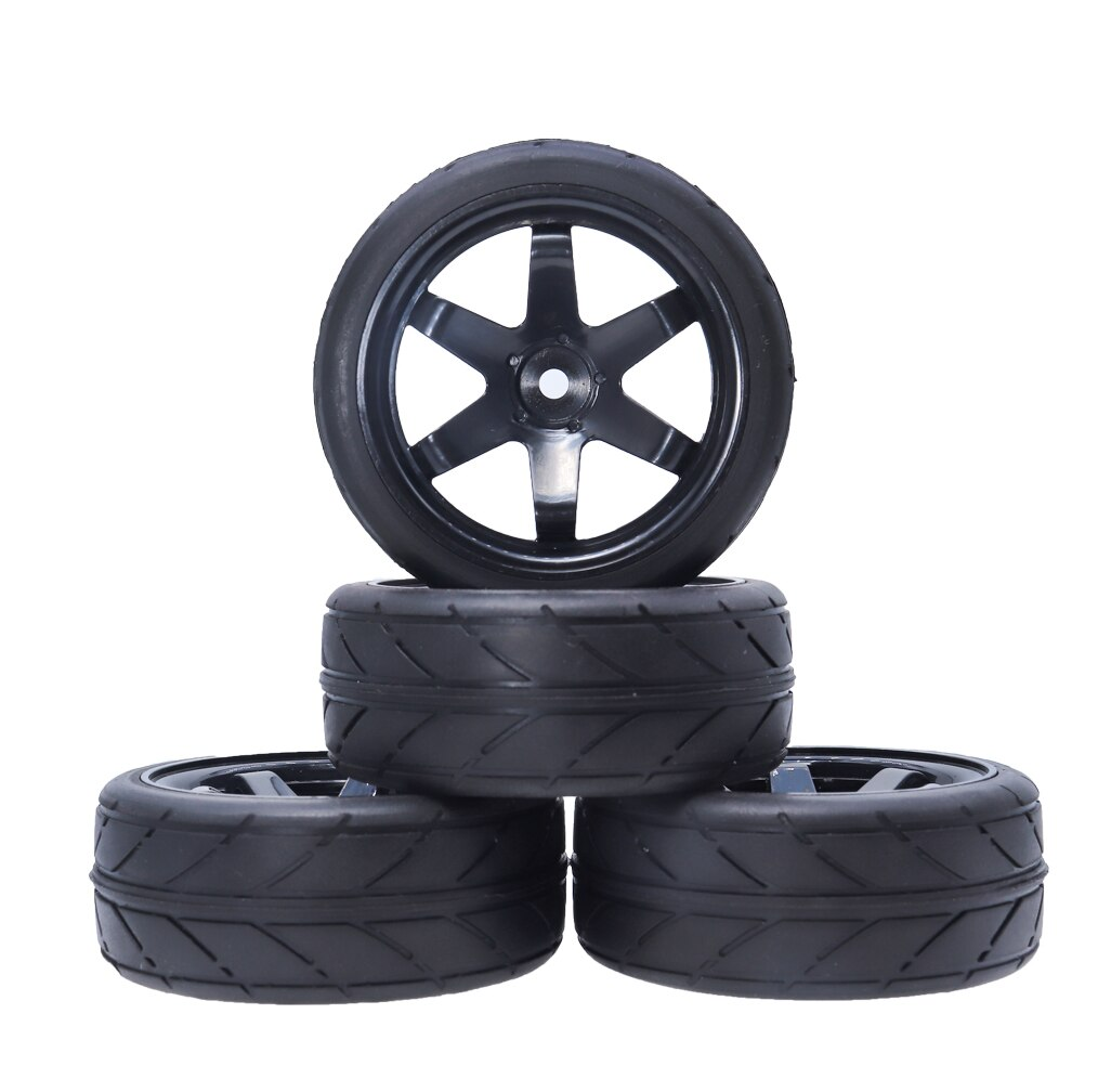 2Pcs RC Car Tires and Wheel for Traxxas  TRX4 TRX-4