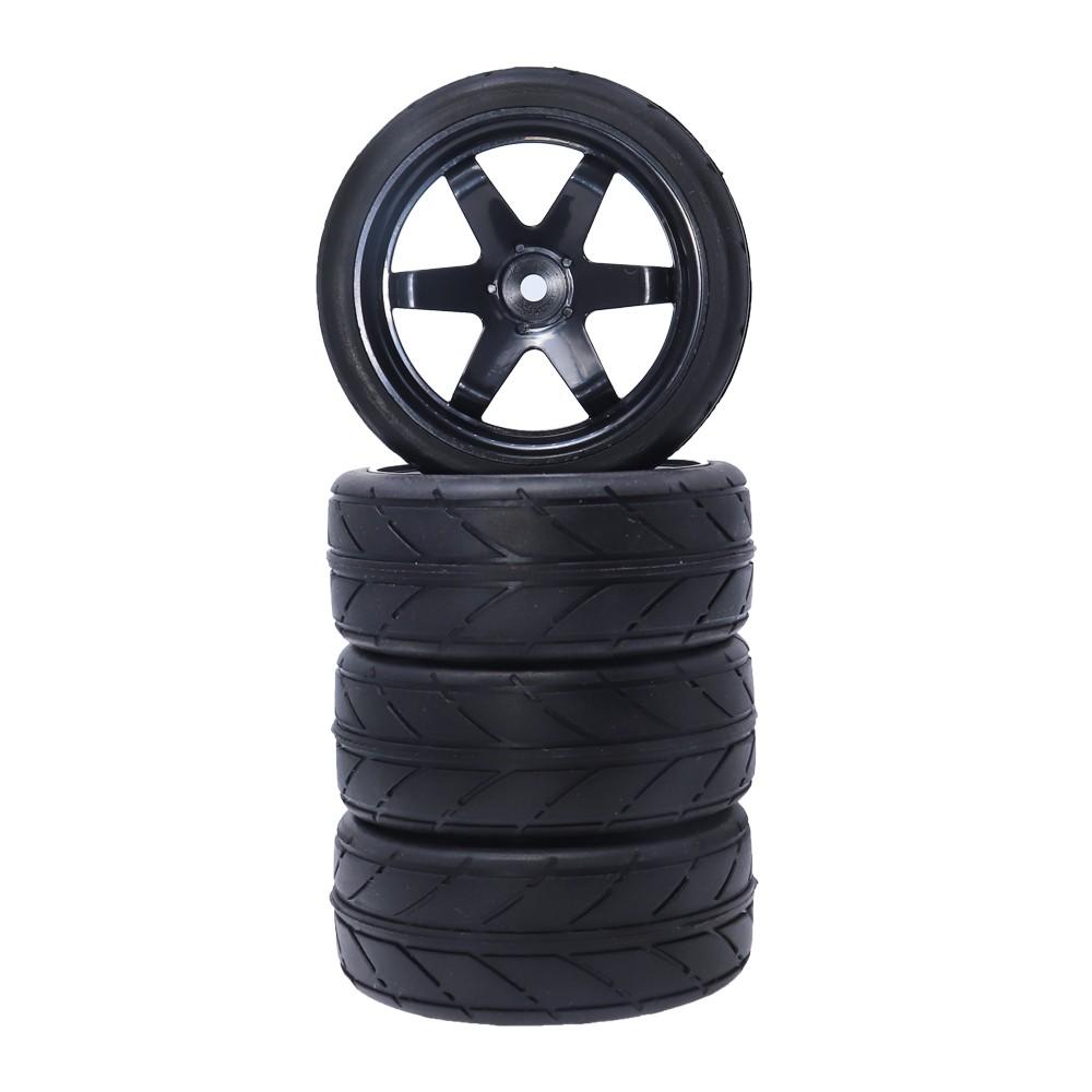 2Pcs RC Car Tires and Wheel for Traxxas TRX4 TRX-4