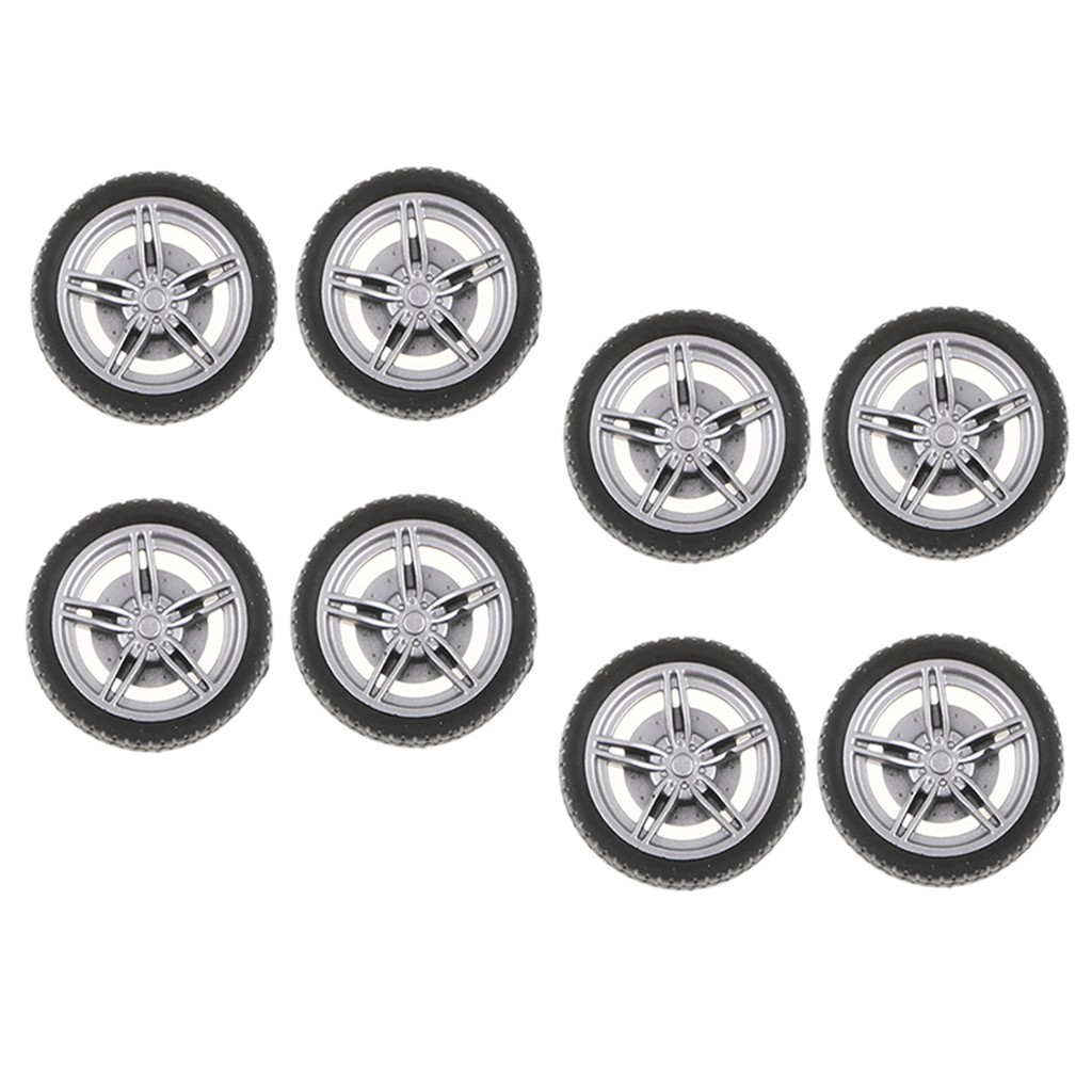 On Road Wheel Rims & Rubber Tires