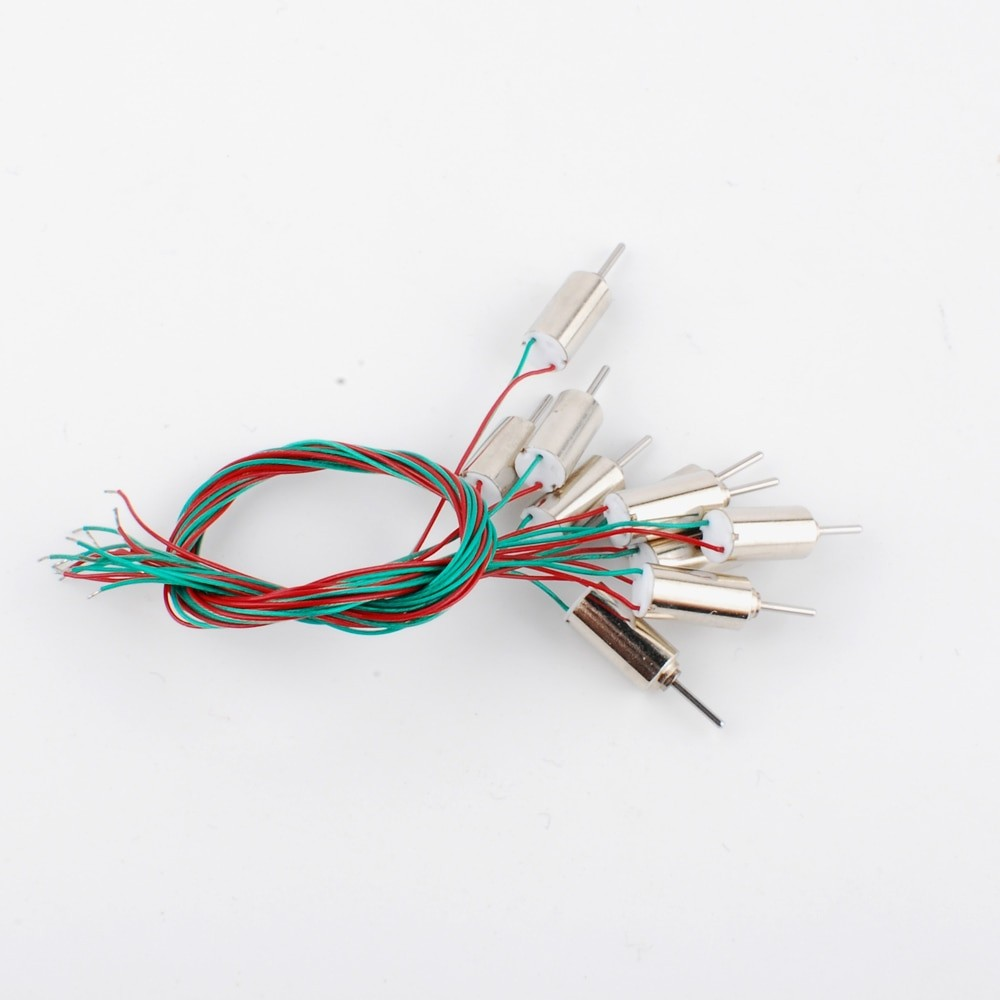 10 Pcs Coreless DC Motor Super high speed for RC helicopter