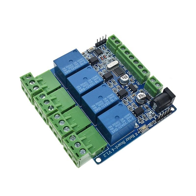 5V 12V 4 Channel Relay Module