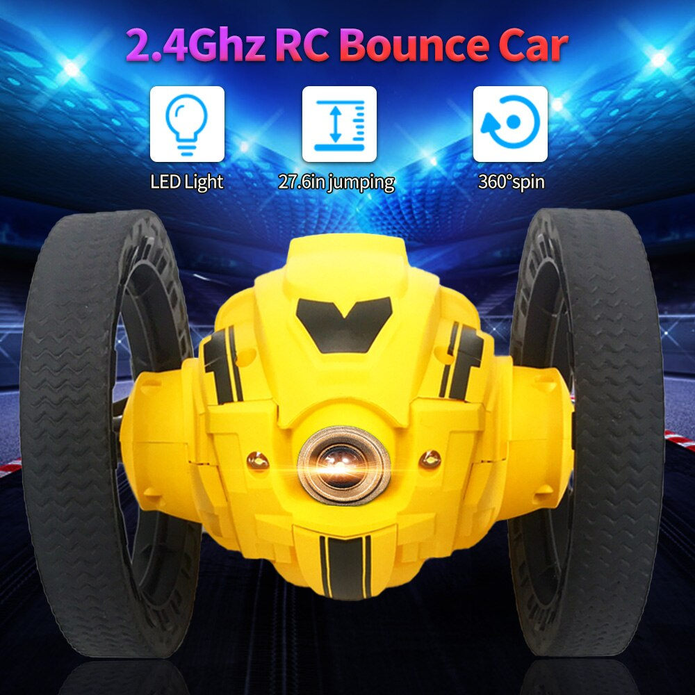 RC 2WD 2.4Ghz Stunt Bounce Car