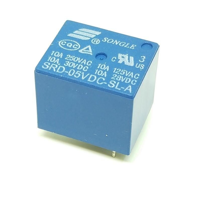 Relays 05V 12V 24V 48V 10A 250VAC with 4PIN