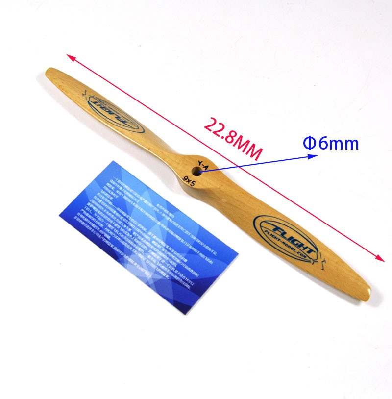 Wooden Propeller for RC Gas Airplane all sizes