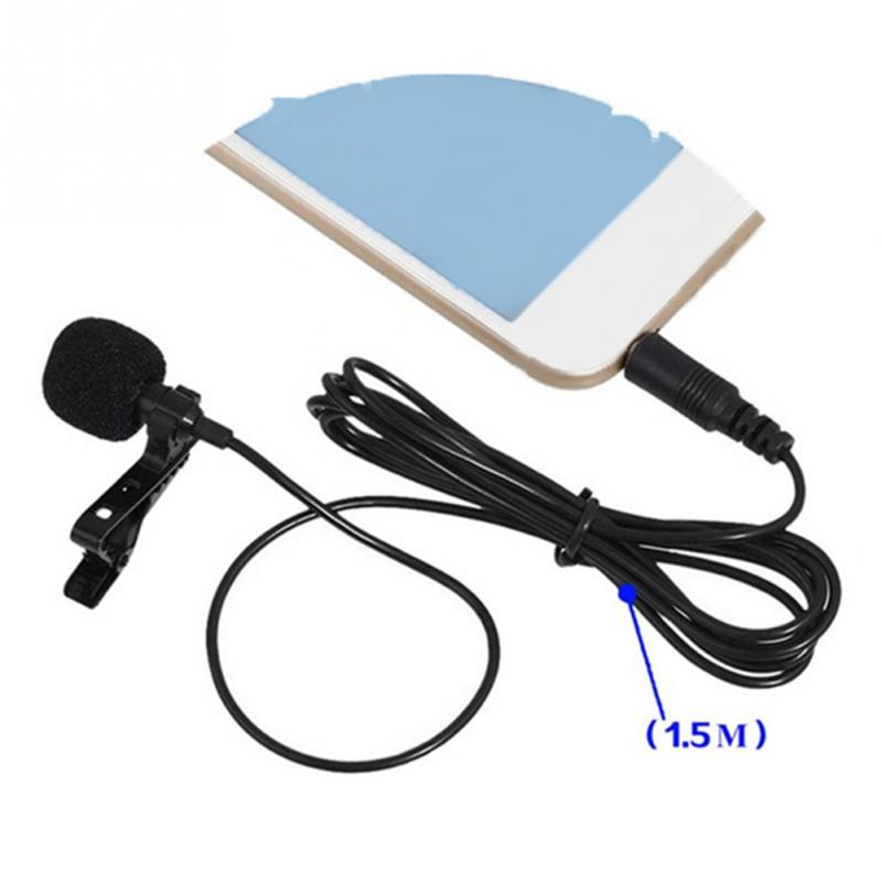 Clip Tie Microphone for Mobile Phone Speaking Vocal Audio Microphone