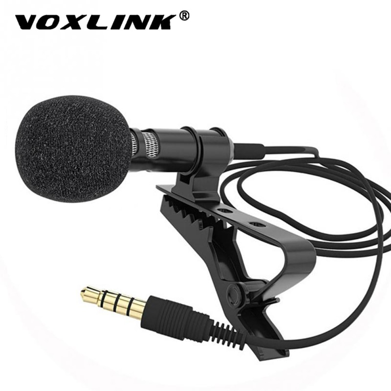 Clip Tie Microphone for Mobile Phone