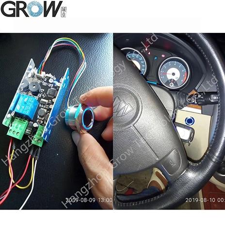R503 Circular Round Capacitive Fingerprint Module Sensor