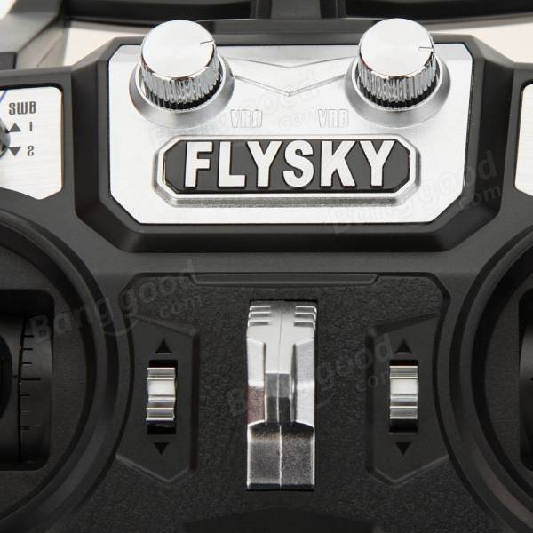 Flysky FS-i6 2.4G 6CH RC Transmitter With Receiver for FPV Drone
