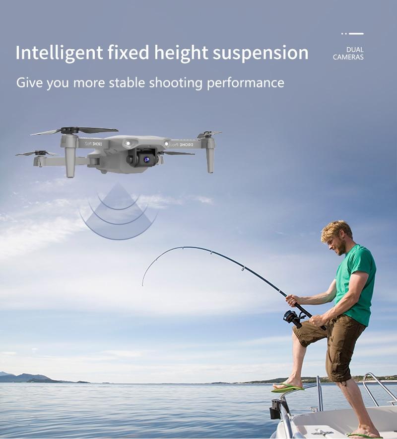 E99 Pro2 Mini FPV Drone 4K Dual Camera